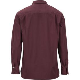 Marmot Kapalino T-shirt à manches longues Homme, burgundy